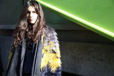 Street look à la Fashion Week de Paris automne-hiver 2014-2015, Jour 6