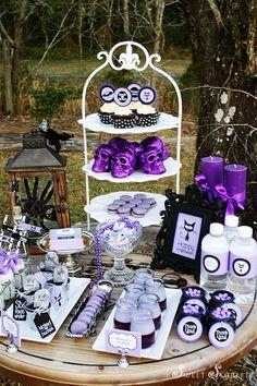 cute purple Halloween