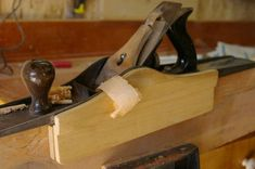 Shop Made Jointer Plane Fence