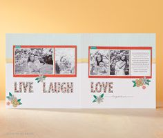 Welcome to my Blog: May stamp of Month - Live Laugh Love