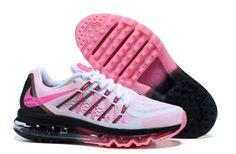 Nike Air Max 2015 Laufschuhe Für Frauen Rosa Weiß Mango Bestellen - 76.42