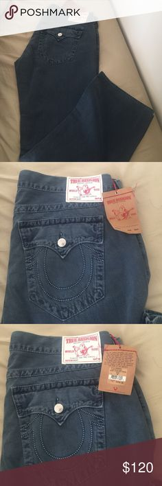 True Religion Jeans size 40 Brand new jeans ... I have like  10 more my husband lost weight and does not fit them anymore. True Religion Jeans
