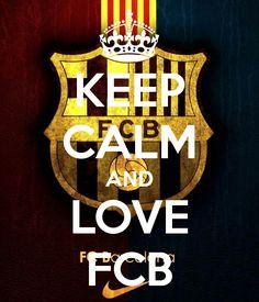 KEEP CALM AND LOVE FCB Poster | Alex | Keep Calm-o-Matic