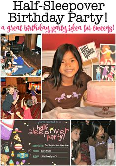 Tween Birthday Party Games For Girls Mom Ideas Birthday Party At Home, Sleepover Birthday Parties, Birthday Party Games, Girl Birthday, Sleepover Crafts, 9th Birthday, Birthday Activities, Kids Birthday Themes, Kids Party Themes