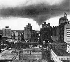 Tornado Downtown Louisville April 1976