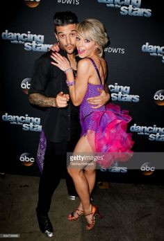 News Photo : Mark Ballas and Lindsey Stirling attend 'Dancing...