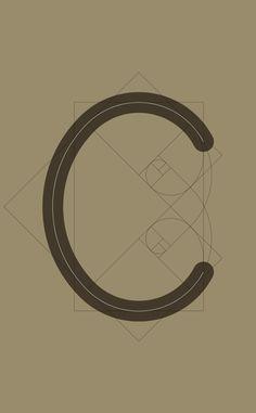 C Anatomy, Typography, Mirror, Gold, Decor, Letterpress, Decorating, Dekoration, Deco