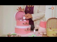 Curso online de Forração de maletas 2 - Montando sua fábrica de maletas e caixas   eduK.com.br - YouTube