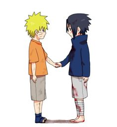 Image result for naruto and sasuke kid