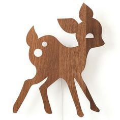 My Deer wandlamp LED eiken | Ferm Living