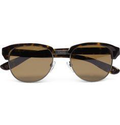 Bottega Veneta Tortoiseshell D-Frame Sunglasses | MR PORTER