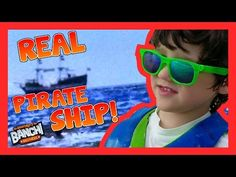 Real Pirate Ship Kids Beach Toys Rain Dance Sunset Ft Meyers Beach | Banchi Brothers Adventures - YouTube