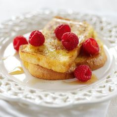 Alpro French Toast Treats Recipe with Vanilla alternative to yoghurt