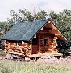 Off Grid Butt And Pass Log Cabin Our Family Built Log Cabin Pinterest Log Cabins Cabin