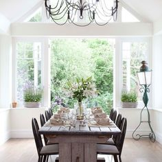 Conservatory diner | Elegant dining rooms - 10 of the best | housetohome.co.uk