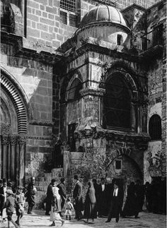 Church of the Holy Sepulchre, Chapel of the Agony of the Virgin, Old Photos, Vintage Photos, Heiliges Land, Palestine History, Old Jaffa, My Father's House, Sacred Architecture, Jerusalem Israel, Holy Land
