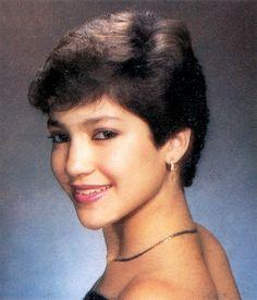 Jennifer Lopez's yearbook photo