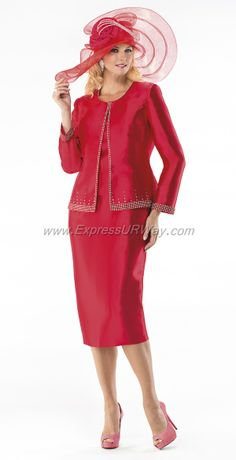 Moshita Womens Church Suits - Spring 2014 - www.ExpressURWay.com - Church Suits for Women, Womens Church Suits, Church Suits, Moshita, Spring 2014, Ladies Suits, Womens Suits, ExpressURWay