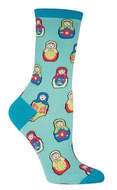 Nesting Dolls Socks