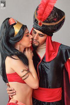Rei Doll and Hao Asakura Sama - Jasmine and Jafar (Aladdin)