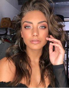 bronze makeup – Hair and beauty tips, tricks and tutorials Makeup Goals, Makeup Inspo, Makeup Inspiration, Makeup Ideas, Prom Makeup, Wedding Makeup, Bohemian Makeup, Make Up Glow, Braut Make-up