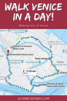 Walk Venice in a Day! | JourneysofJess