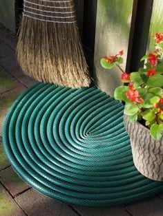 Re-purposed garden hose