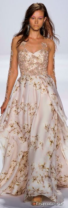 This would be a pretty fabulous wedding dress. You only have one wedding, might as well make it fabulous!
