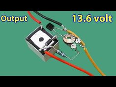 Automatic cut/off 12v Battery Charger - YouTube