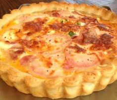 Egg and Bacon Pie by Louise Richards on www.recipecommunity.com.au