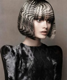 Fashionable hair coloring 2013.
