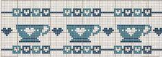 Gallery.ru / Фото #91 - мелкое - Ulka1104 Cross Stitch Embroidery, Cross Stitch Patterns, Cross Stitch Kitchen, Fun Hobbies, Christmas Cross, Crochet, Towels, Tea Pots, Pasta
