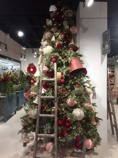 Country Christmas Bells Tree