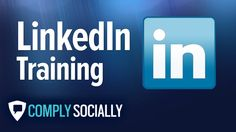 """http://complysocially.com/online-social-media-policy-training/linkedin-for-business/ LinkedIn Training is a comprehensive, online social media training course of HD training videos and step-by-step online training tutorials by Eric Schwartzman, the coauthor of """"Social Marketing to the Business Customer,"""" the first book on B2B social media in this self-paced, online course that you can take right now."""