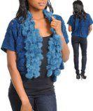 #7: G2 Fashion Square Blue Faux Fur Cute Bolero Vest - http://ec2-184-73-114-131.compute-1.amazonaws.com/wordpress/7-g2-fashion-square-blue-faux-fur-cute-bolero-vest/