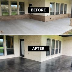 Outdoor Concrete Stain, Concrete Stain Colors, Painted Concrete Floors, Stained Concrete Flooring, Painting Concrete Patios, Exterior Concrete Paint, Stained Concrete Driveway, Painted Cement Patio, Concrete Slab Patio