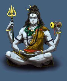 Lord Shiva is the ruling deity of Cathurdashi, is the god of destruction Shiva Hindu, Shiva Art, Shiva Shakti, Krishna, Shiva Yoga, Shiva Meditation, Shiva Tattoo, Lord Shiva Painting, Lord Mahadev