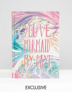 Image 1 of Paperchase Mermaid Agenda Planner