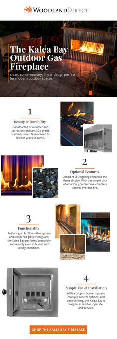 Modern Architecture House, Concept Architecture, Modern House Design, Outdoor Gas Fireplace, Linear Fireplace, Chen, Industrial, Outdoor Fire, Outdoor Living