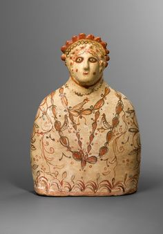 Terracotta bust of a Phrygian goddess 5th-4th C BC