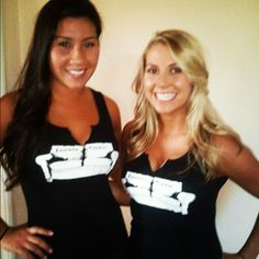 Fantasy Couch girls at a draft party