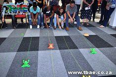 Sabinet Frog Derby team building Centurion, Pretoria...
