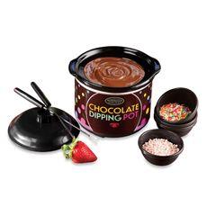 Nostalgia Electrics™ Electric Chocolate Dipping Pot - Bed Bath & Beyond