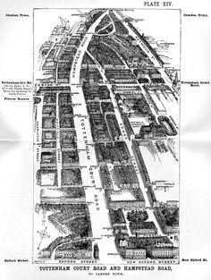 Tottenham Court Road Map