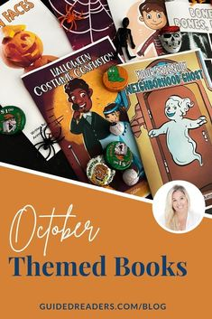 Halloween is just around the corner! Get yours primary students in the Halloween spirit this season with these Halloween themed books! Get yours TODAY! Spirit Halloween, Halloween Themes, Book Themes, Learning Resources, Seasons, Baseball Cards, Books, Libros, Seasons Of The Year
