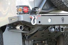 Para-choque traseiro Defender 90 e 110 - Mod 1