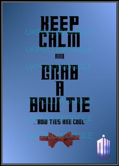 Dr Who Matt Smith. Doctor Who 'keep calm by PolliwoggleDesign, £9.99