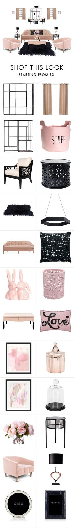 """""""⚫"""" by bri-grim ❤ liked on Polyvore featuring interior, interiors, interior design, home, home decor, interior decorating, David Francis Furniture, Vitra, Jan Constantine and Pottery Barn"""
