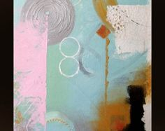 Original abstract textured Acrylic painting on canvas от YueJinArt