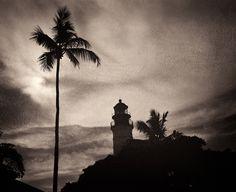 Key West lighthouse | Fuji GF670 (film) | #jhunterphoto